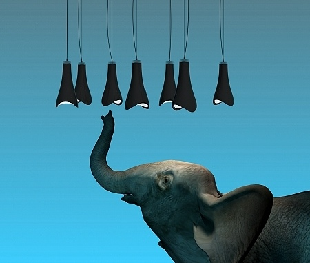 elephant trunk light
