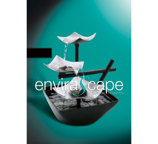 Envirascape Silver Springs Illuminated Relaxation Fountain