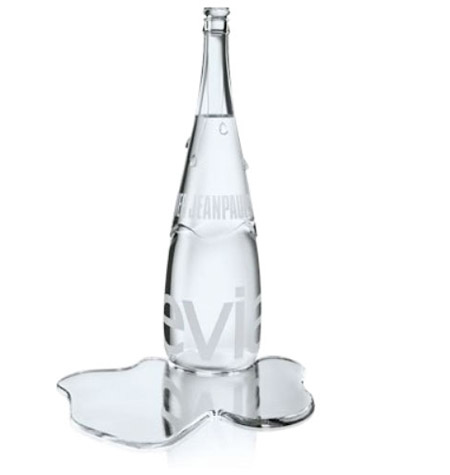 Five Exclusive Edition Bottle from Evian
