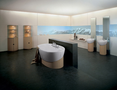 Modern Bathroom Accessories on F1 Bathroom Design From Grohe   Modern Home Decor