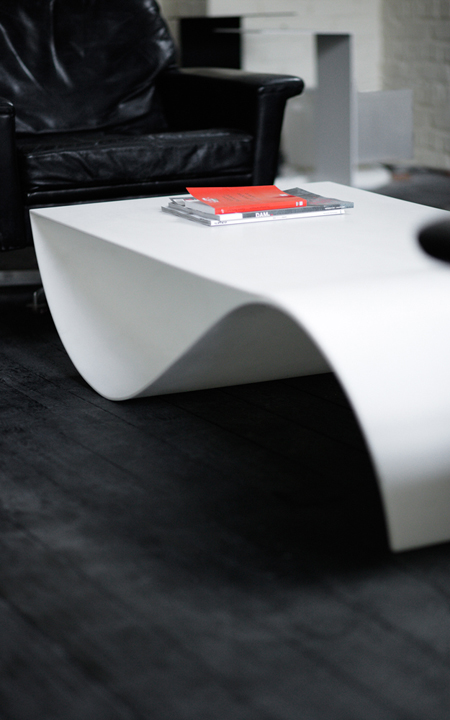 Sleek Fish Coffee Table With Storage Space For Your Magazines Modern Home Decor