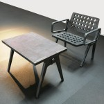 Flame Chair and Table by Tom Dixon