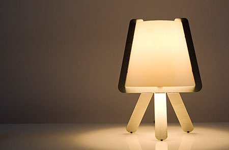 flat lamps: stylish lamps from studio ooga | modern home decor