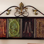 Fleur-De-Lis Home Metal Wall Plaque Art Will Bring Nature Close To Your Home