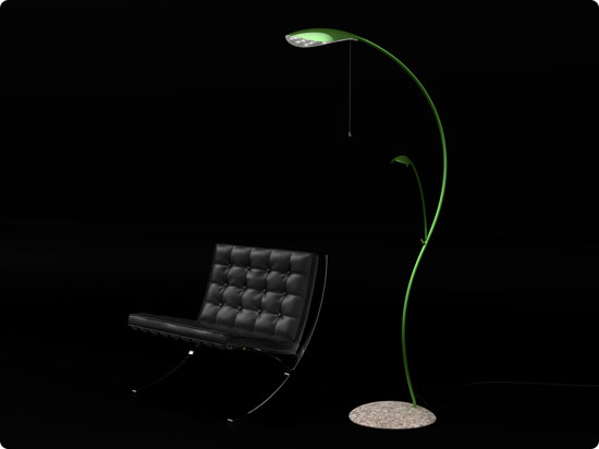 FloorLeaf Floor Lamp
