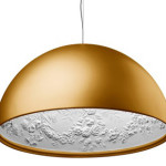 Artistic Skygarden Gold Pendant Lamp from Flos