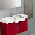 Flower Bathroom Vanity from Duebi Italia