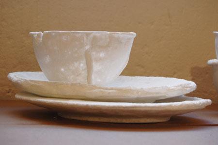 Foam Porcelain Tableware