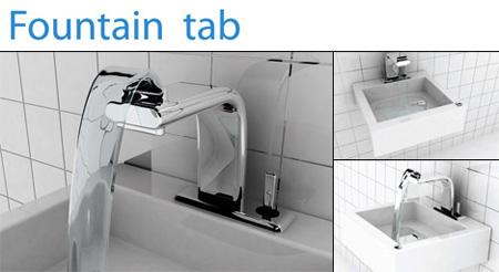 Fountain Tab Faucet