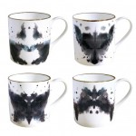 Fox Ink Blot Mug Is An Artistic Piece Of Mug