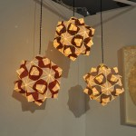 Freefolded Paper Pendant Lamps: A Lamp And Home Décor In One