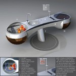 Fruit of Life Kitchen Design : Futuristic Kitchen All in One