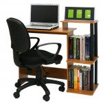 Enjoy A Stylish And Sleek Work Station With Your New Furinno Efficient Computer Desk