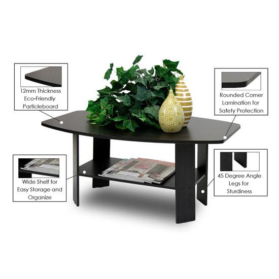 Furinno Simple Design Coffee Table - Furinno Simple Design Coffee Table Will Let Your Enjoy Coffee