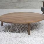 Warm Gray 46 Coffee Table in American Walnut by Gervasoni