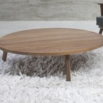 Warm Gray 46 Coffee Table in American Walnut by Gervasoni