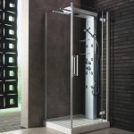 Shower Cabin with Sliding Shower Heads by Glass Idromassaggio