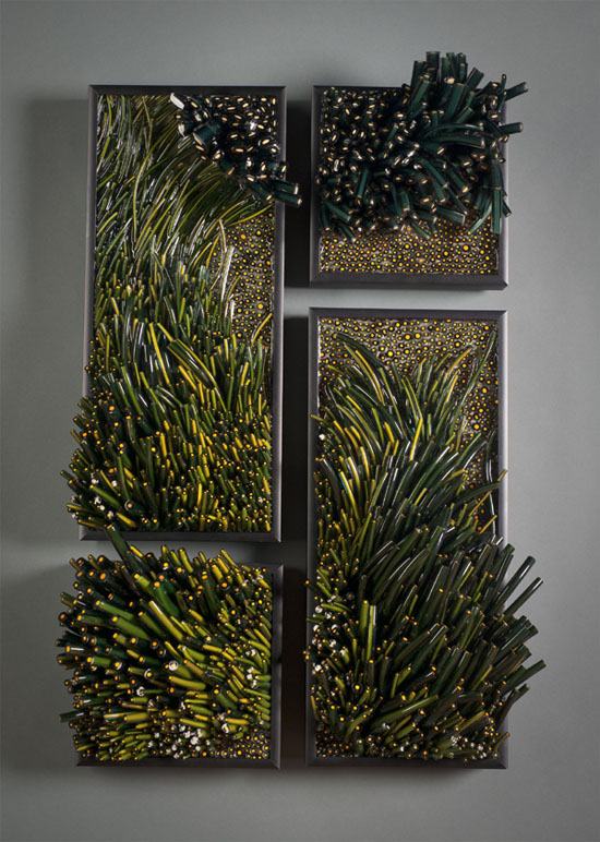 Glasswork of Shayna Leib