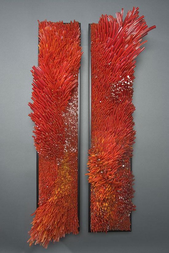 Glasswork of Shayna Leib