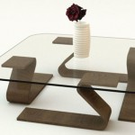 Contemporary GlassPort Table by Adi Fainer