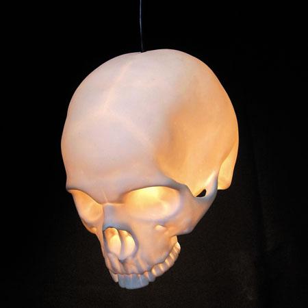 Goliath Pendant Skull Lamp