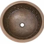 Handcrafted Hammerwerks Copper Sinks from Houzer