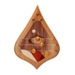 Unique Handcrafted Harp for Doorbell Emits Tranquil Notes to Welcome Your Guest