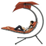 Air Porch Swing Hammock with Arc Stand Offers You Comfort and Relaxation Outdoor