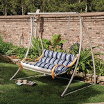Hatteras Hammocks Deluxe Cushioned Double Swing is Super Comfy and Looks Really Good