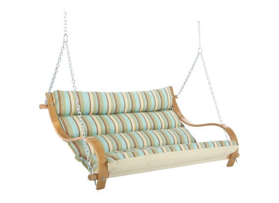 Hatteras Hammocks Deluxe Cushioned Double Swing