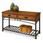 Home Styles 5050-22 Modern Craftsman Sofa Table Is When Classic Design And Modern Approach Meet