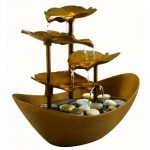 HoMedics Envirascape Garden Leaves Illuminated Fountain Will Give A Relaxing Ambiance To Your Home