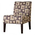 Homelegance Lifestyle Armless Lounge Chair Adds Up To The Beauty Of Your Home
