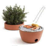 Hot-pot Bbq: A Grill And Outdoor Décor In One