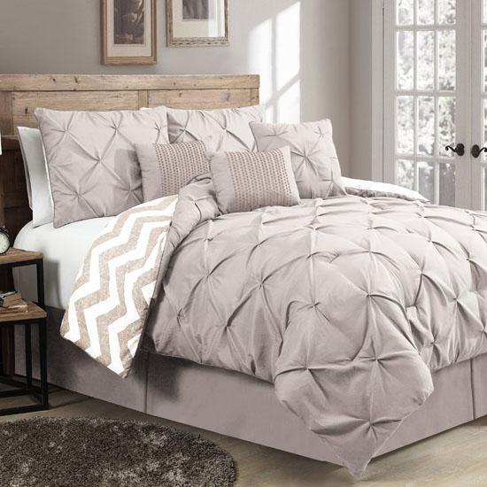 Luxury House of Hampton Germain 7-Piece Comforter Set