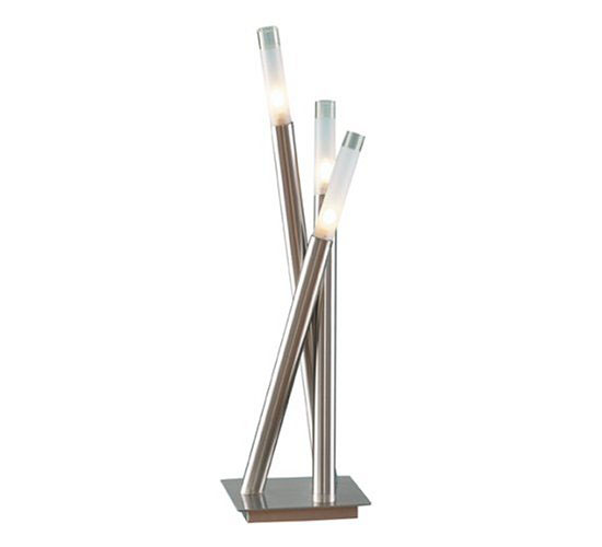 Icicle Contemporary Chrome Table Lamp