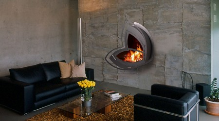 icoya contemporary fireplace