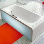 Modern Ideal Bathtub with Pull-Out Drawer