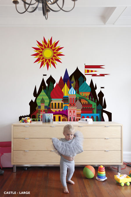 Imaginary Castles Wall Decals