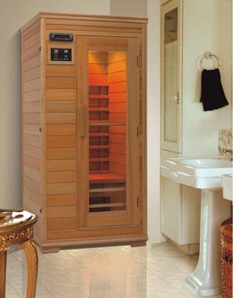infrared sauna bathroom