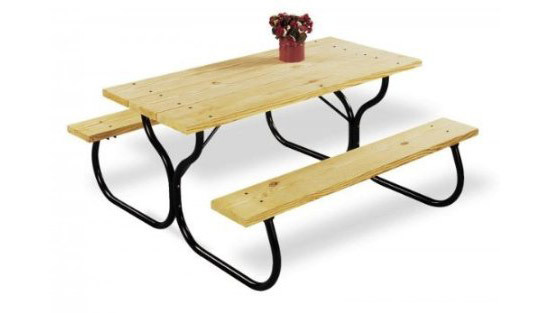 Jack-Post Country Garden Picnic Table Frame Kit