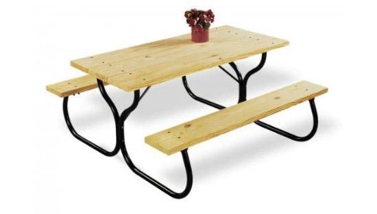 Jack-Post Country Garden Picnic Table Frame Kit