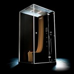 High End Shower System with Hydromassage : Morphosis Omega by Jacuzzi