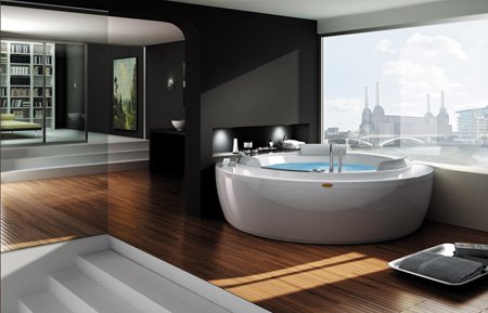 jacuzzi nova whirlpool baths collection a perfect form of design