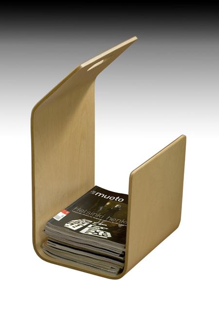 Kanto Magazine and Firewood Rack