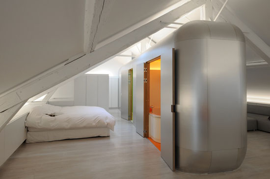 Kempart Loft By Dethier Architectures