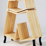 Kenyon Yeh Bookcase: A Sculptural Bookcase For Your Elegant Home