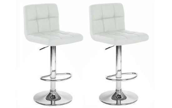 Kings Brand Air Lift Adjustable Bar Stools