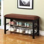 Organize Your Shoes And Save Space With Your Kings Brand Micro Fabric Shoe Rack Organizer And Bench