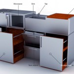 Kit-Cub Kitchen: A Modern Cubed Kitchen Concept